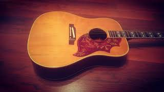 1966 Gibson Hummingbird Natural Demo