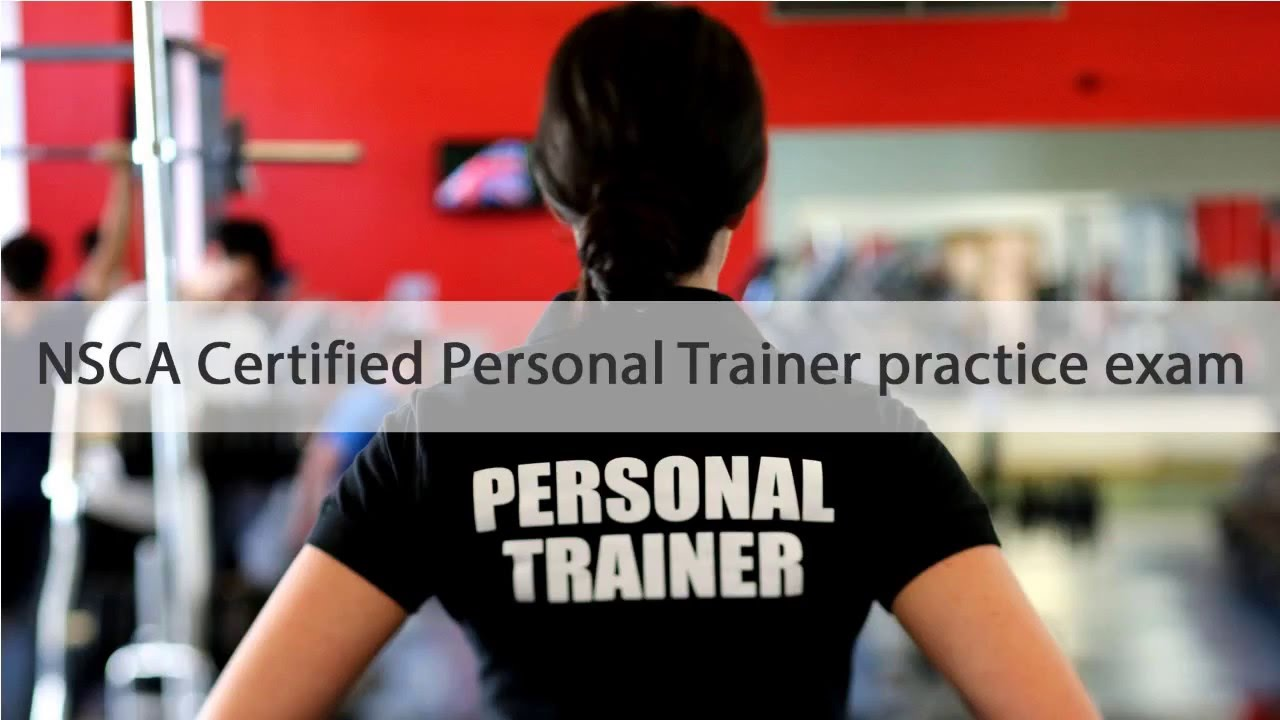 Nsca Certified Personal Trainer Practice Exam Youtube