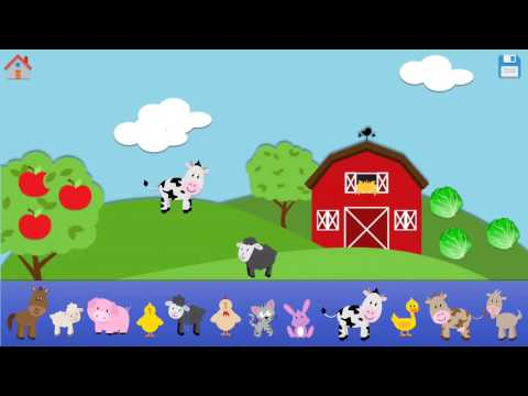 Learn to Count to 10 with Farm Animals | Real animal sounds | Write numbers | Fun learning