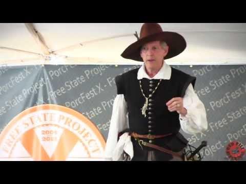 Richard Cheatham - Meet John Rolfe: America's First Great Entrepreneur - PorcFest X