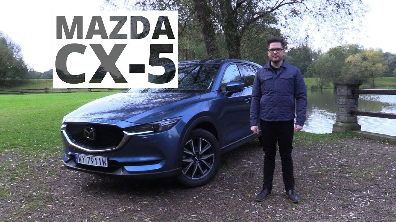 Mazda CX-5 2.2 Sky-D 175 KM, 2017 - test AutoCentrum.pl #354 - YouTube : spis test : Inredning
