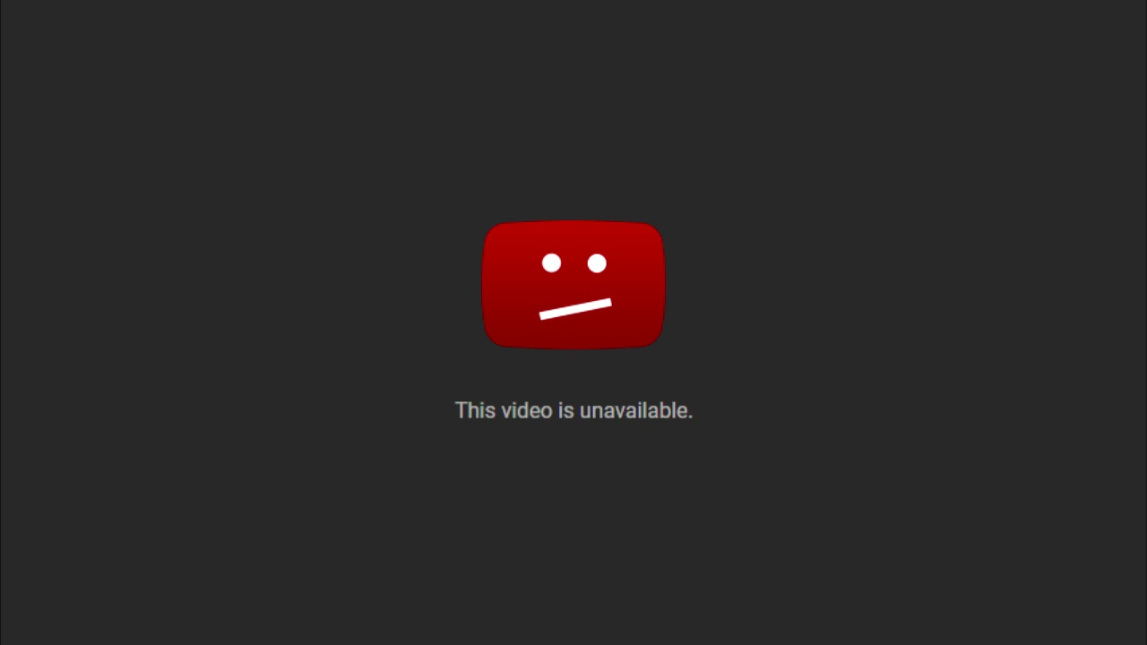 This video is unavailable. - YouTube