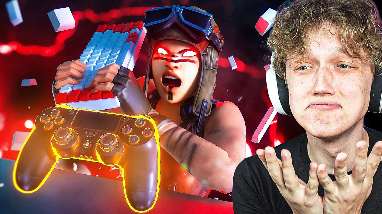 I Switched to CONTROLLER After 4 Years of Keyboard in Fortnite...