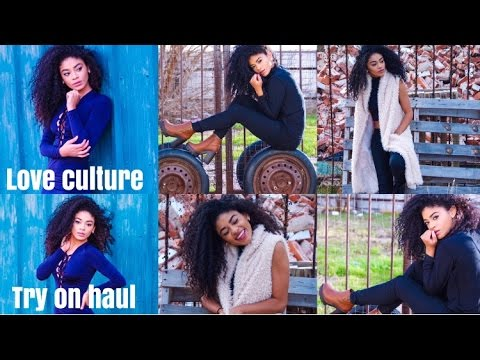 Try On Haul-Love Culture | jasmeannnn