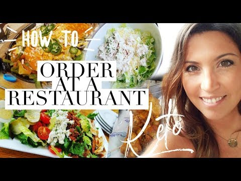 What to Order at a Restaurant Following The Keto Diet | Ashley Salvatori