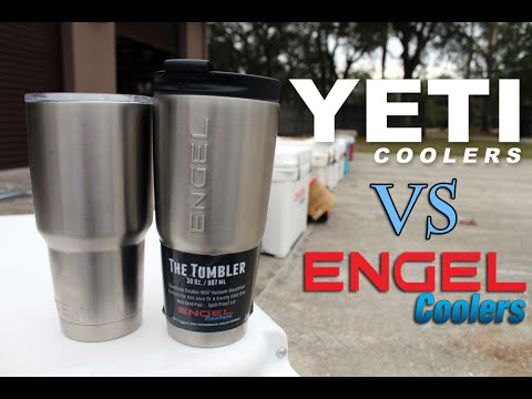 Yeti Tumbler Vs Engel Tumbler Comparison Video, Which Holds Ice Longer, Can  A Tumbler Last 24 Hours?