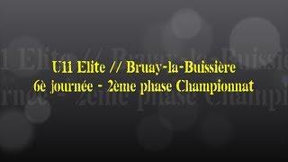 Retour sur le match... U11 Elite // Bruay