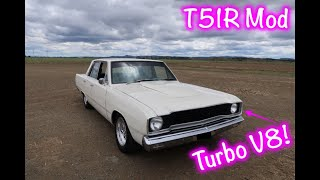 DUFFY'S GARAGE - Car Review - 1968 Valiant Turbo V8 VE VIP Sedan