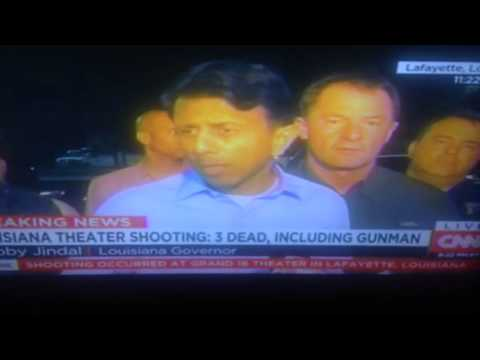 Lousiana Theater Shooting Gov Bobby Jindal Press Conference