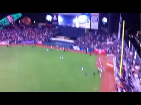 Sept 22, 2012 San Diego Padres vs. San Francisco Giants Victory Lap