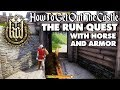 Kingdom Come Deliverance How To Get Out Of The Castle In The Run Quest !