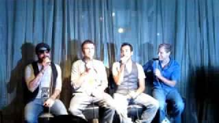 BSB Straight Through My Heart acapella - Singapore Meet Sep 2009