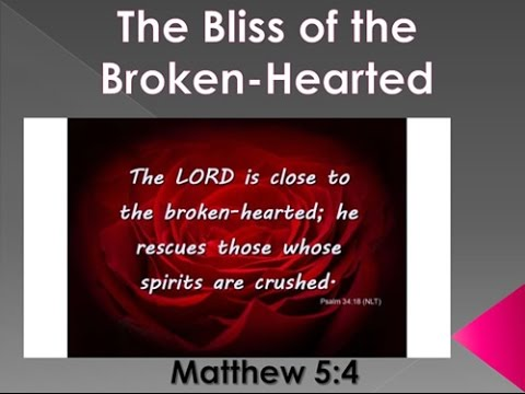 The Bliss of the Broken-Hearted, Curtis McClane Bible class of 2016-08-24