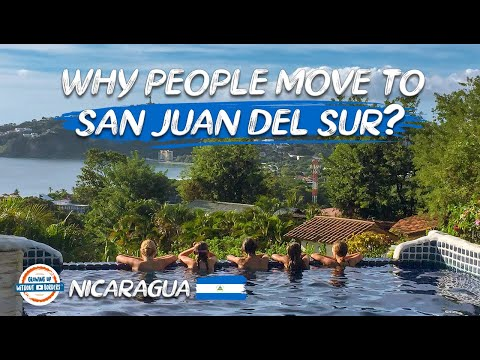 Why People Move To San Juan del Sur Nicaragua | 90+ Countries With 3 Kids