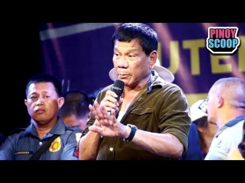 Rodrigo Duterte Slammed Over Offensive Rape Joke