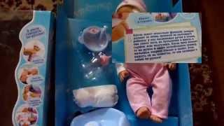 Кукла Лялечка с горшком и бутылочкой! Обзор пупса. Дочка в восторге!