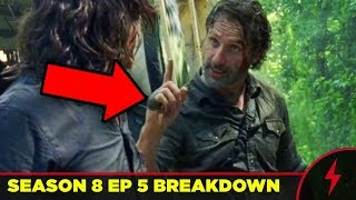 "Walking Dead 8x05 Breakdown - HELICOPTER EXPLAINED (""The Big Scary U"" Analysis)"