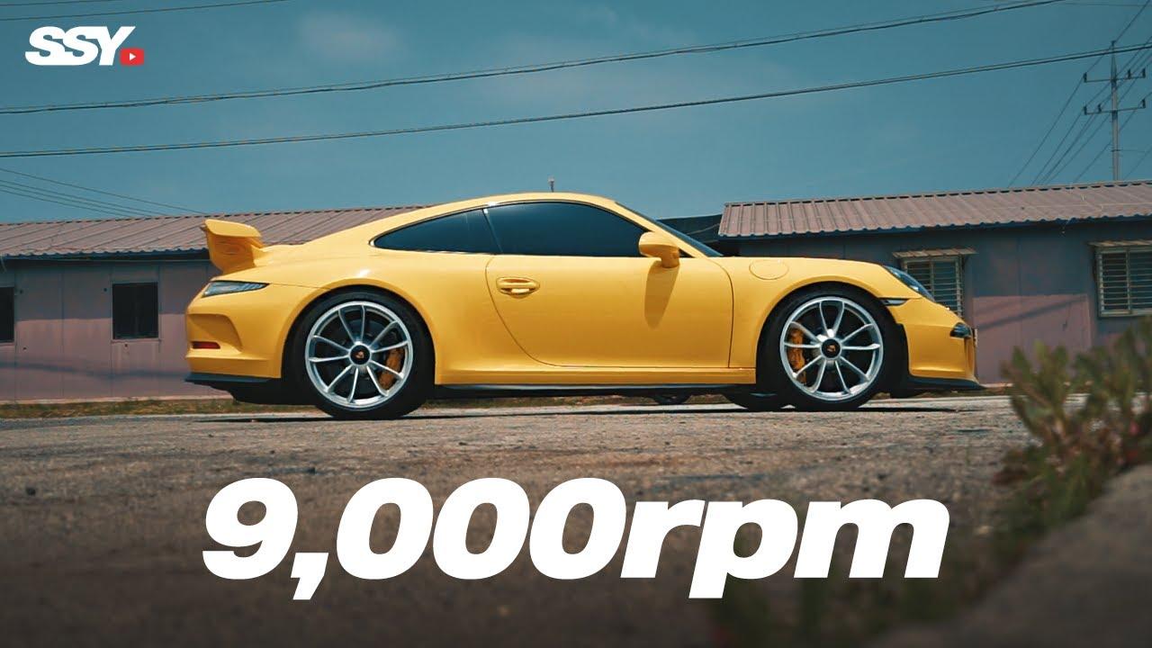 9,000rpm으로 가버렷! 포르쉐 911 GT3