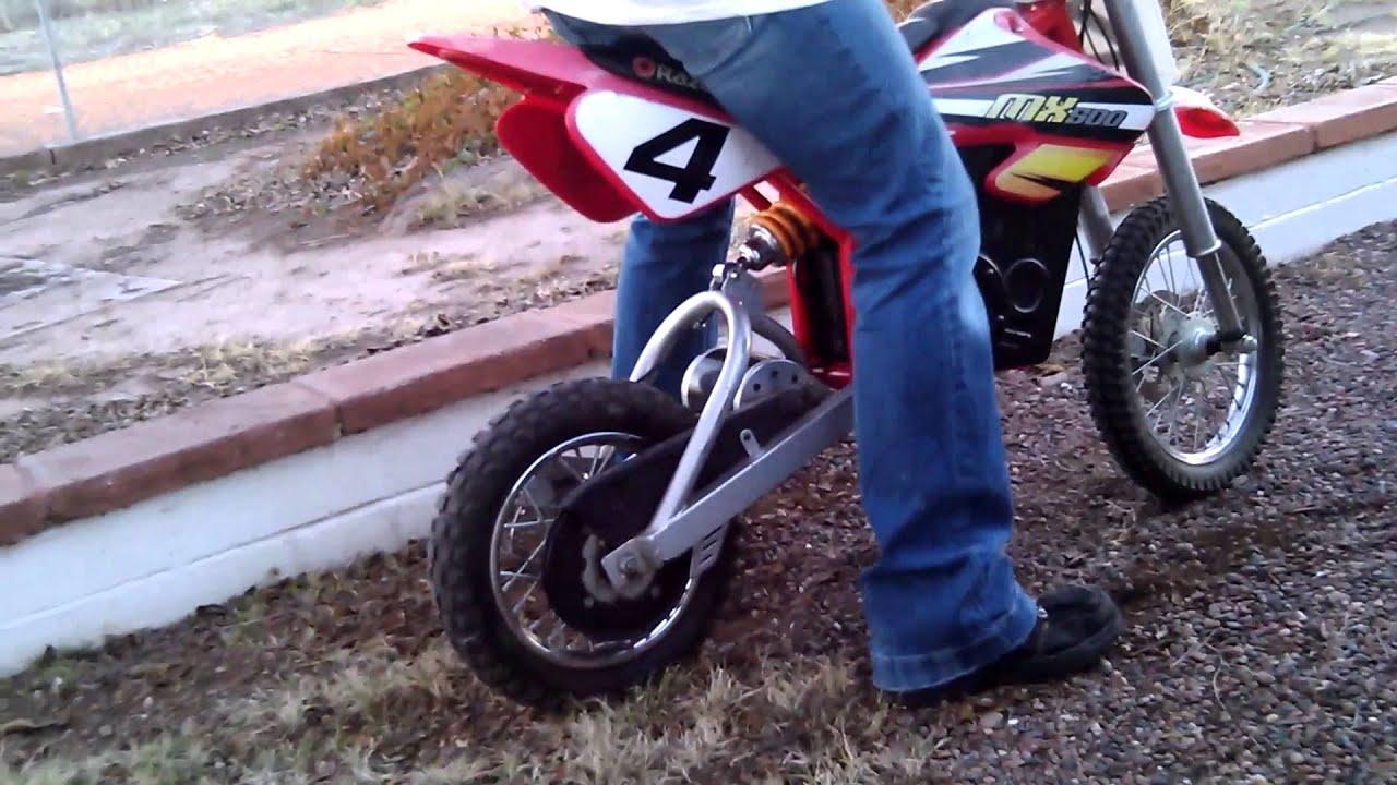 Razor Mx 500 Dirt Bike Killer Suspension Kits Youtube