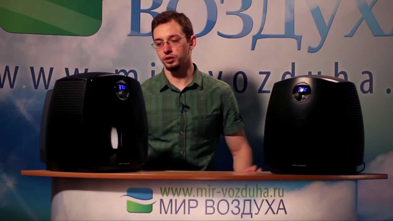 Boneco W2055D и W2055DR (Обзор увлажнителей-очистителей воздуха)