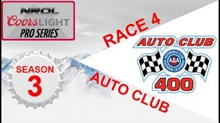 NROL Coors Light Pro Series S3 | Auto Club 400