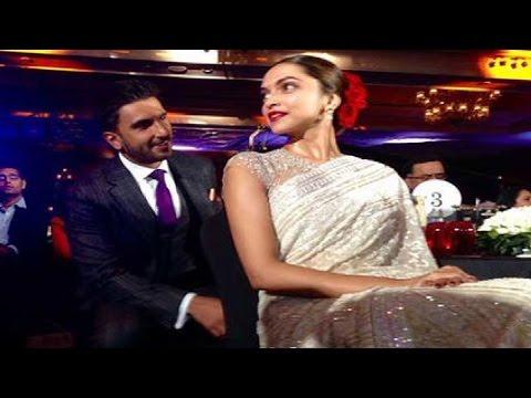 Ranveer Singh's ROMANTIC Moment with Girlfriend Deepika Padukone