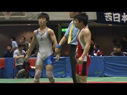 Freestyle Wrestling in Japan - 55kg Pin