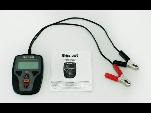 solar battery system tester ba9 youtube. Black Bedroom Furniture Sets. Home Design Ideas