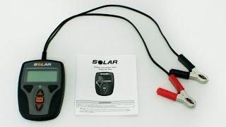 solar battery system tester ba9