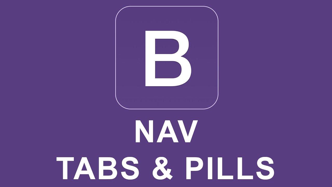 Bootstrap 4 Tutorial 33 - Nav Tabs & Pills