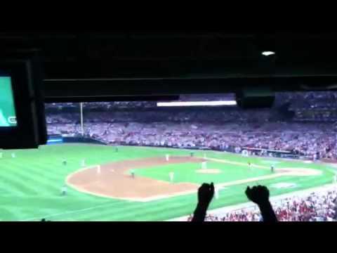 2011 NLDS Game 4- Cardinals Get Final Out