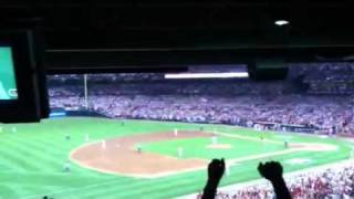 2011 NLDS Game 4- Cardinals Get Final Out