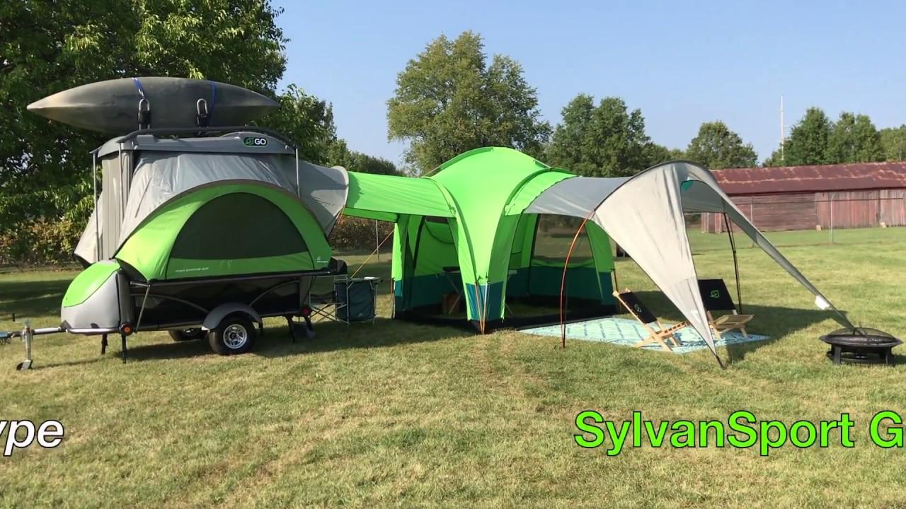 Sylvan Sport Go Tent & Sylvan Sport Go Tent - YouTube