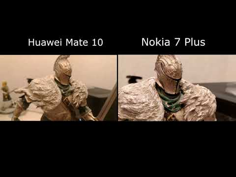Video Recording : Nokia 7 Plus vs Huawei mate 10