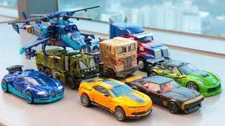 Transformers AOE Autobots Optimus Prime Bumblebee Drift Crosshairs Hound Vehicle Car Robot Toys