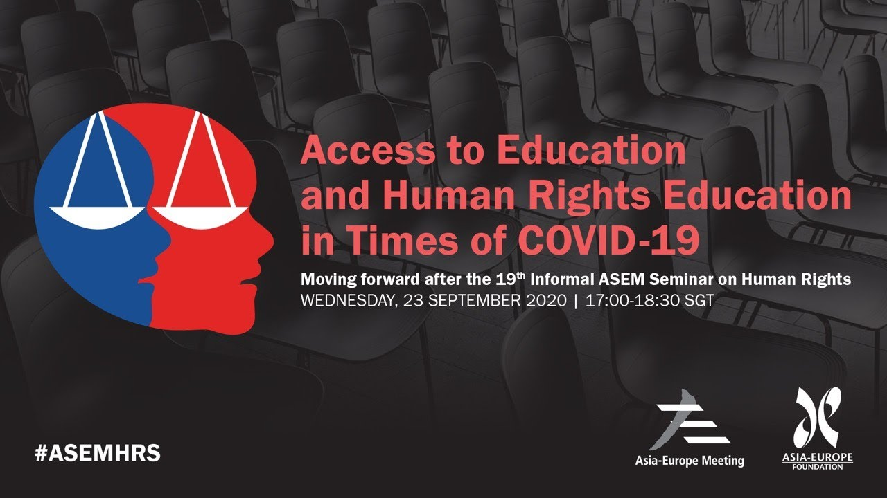 Download Access to Education and Human Rights Education in Times of COVID-19