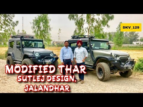 Mahindra Thar Modificatoins | Hard Top Makers | Sutlej Designs | Jalandhar | DKV_129