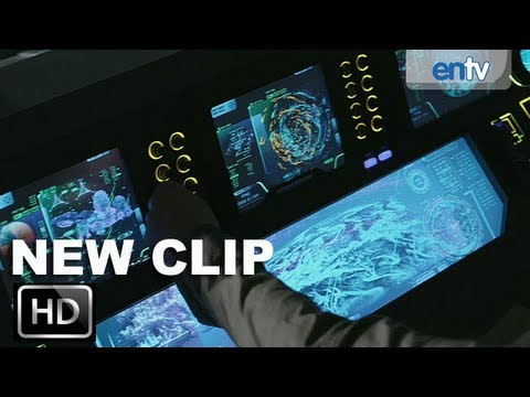 Prometheus Official Clip 1 [HD]: The Prometheus Braces For Entry: ENTV