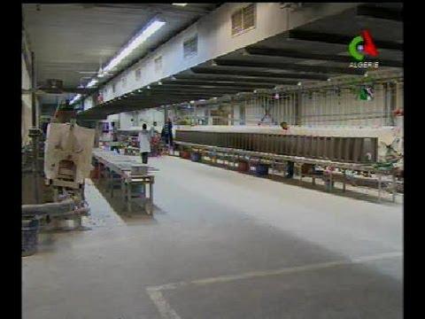 Algerie,Industrie,grande entreprise de ceramique