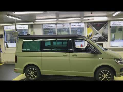 VW T6 NATO Green Matt Carwrapping Mcfolia Kempten