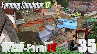 """Farming Simulator 17 Mini-Farm #35 - """"Dach w oborze zrobić trzeba"""""""