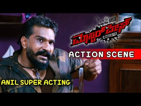 Yash Movies | Anil Attacks Yash's House Kannada Scenes | Masterpiece Kannada Movie