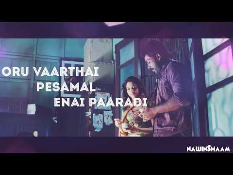 whatsapp status tamil En kadhal solla|Lyrics|HD