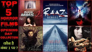 Bollywood Horror Movies Top 5 Opening Day Box Office Collection  | Stree | Ek Thi Daayan