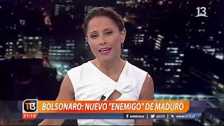 TV Chilena demonstra incômodo de Maduro com