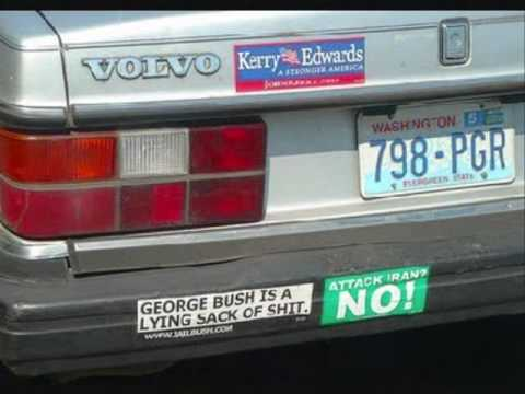 Some funny bumper stickers