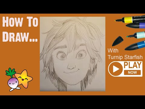 Disney Heroes Drawings How to Draw Big Hero 6's Hiro