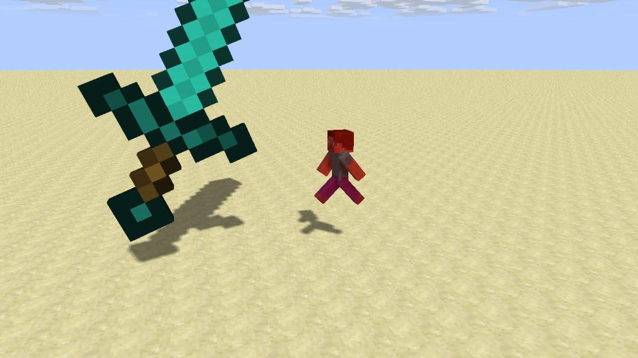 minecraft giant sword