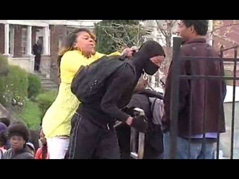Baltimore Riots Who's Behind it?