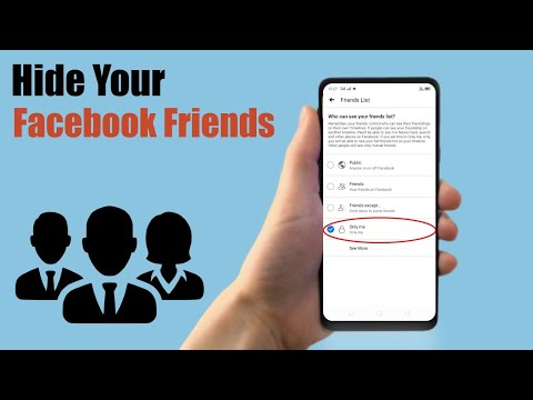 How to Hide Your Facebook Friends List on Mobile 2019
